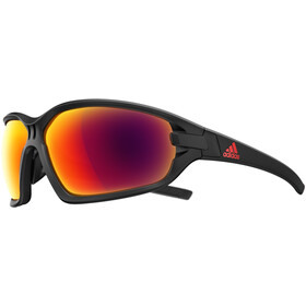 adidas Evil Eye Evo Basic Glasses L black matt/red